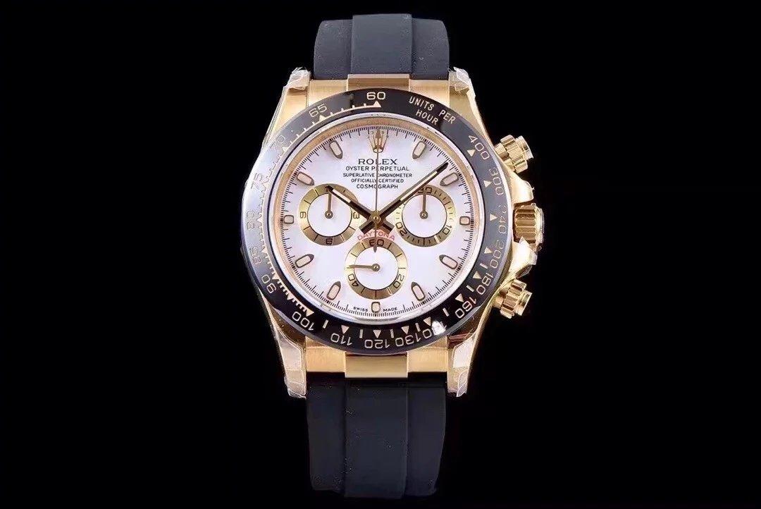 2017巴塞新款劳力士宇宙计型迪通拿系列 JH厂出品玫瑰金款式 自动机械 男士手表