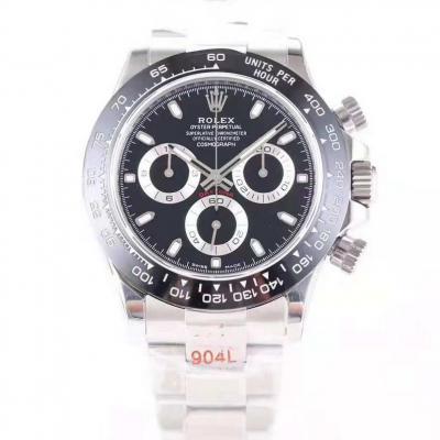N厂v8版904钢制 订制版劳力士迪通拿男士机械手表 复刻表