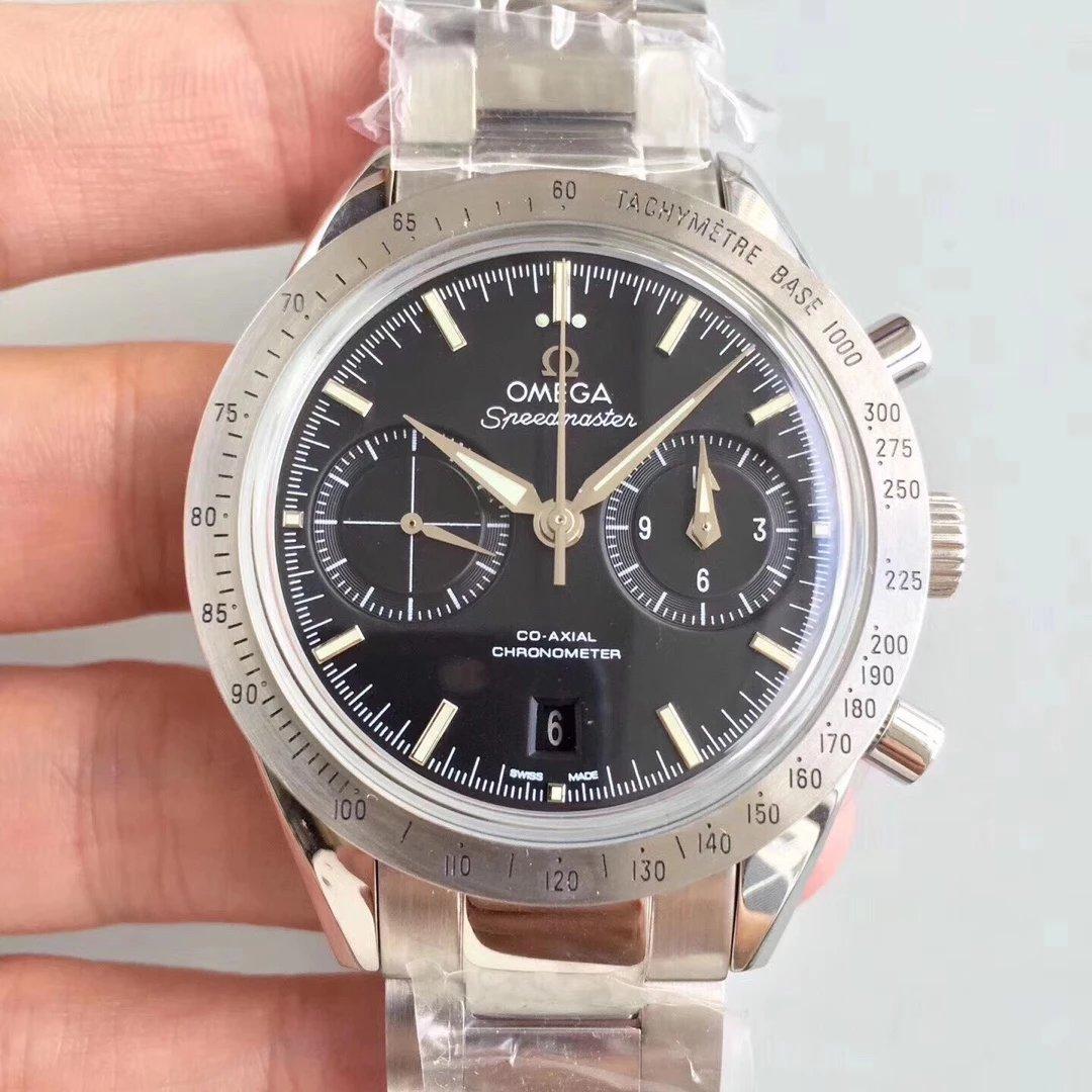 仿表界历史重大突破性新闻发布 om新品传奇超霸系列)是市面上最高版本的计时腕表