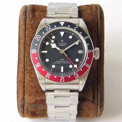 帝舵碧湾系列之格林尼治型机械腕表【红蓝经典 复古型格】ZF出品