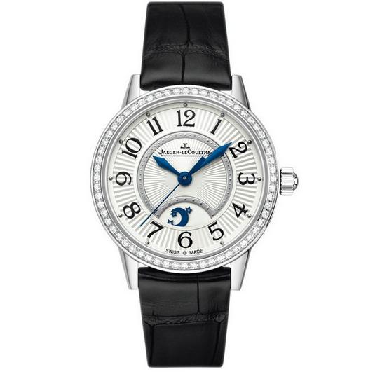 顶级复刻积家约会系列3468421月相大师女士机械手表 镶钻款