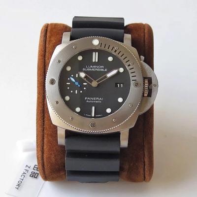 ZF厂沛纳海1305钛合金男士胶带手表 顶级复刻大直径47毫米