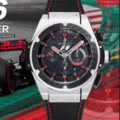 V6厂宇舶计时功能新款手表 陶瓷刹车片圈口