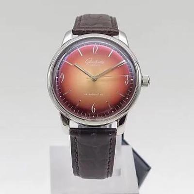 """又一枚堪称传奇的腕表面世??""""SpezimaticGF新品 格拉苏蒂鎏金60年代复古纪念腕表颜色"""