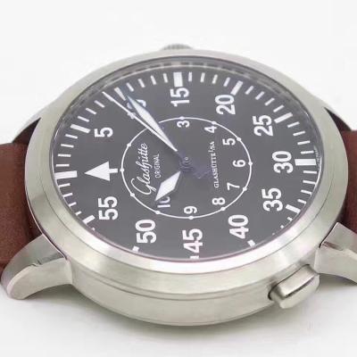 【GF新品发布】格拉苏蒂飞行员腕表100-09-07-04-04 搭载海鸥复刻cal.100-9机芯