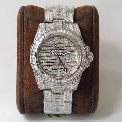 奢华至极 TW挑战新高度 史上最昂贵的劳力士满天星腕表劳 力士格林尼治型II的密镶钻特别款