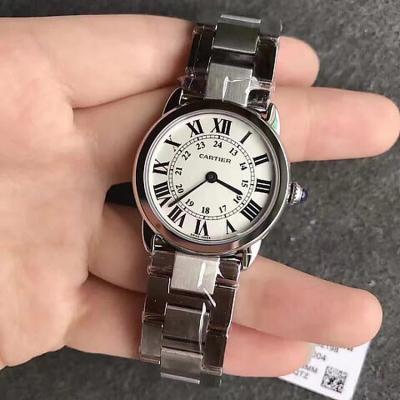 【台湾厂】卡地亚伦敦 女款TW台湾厂新力作 卡地亚伦敦SOLO系列W6701004女士腕表