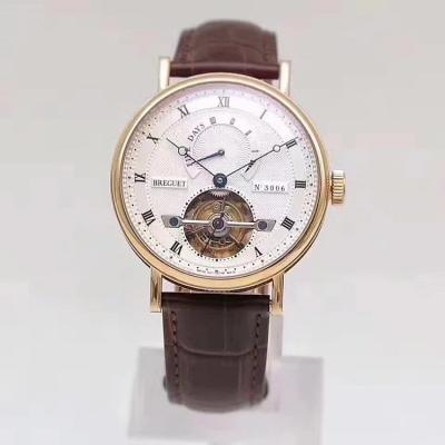 TF出品 宝玑同轴自动陀飞轮 玫瑰金少有的自动陀飞轮款式之一  男士手表