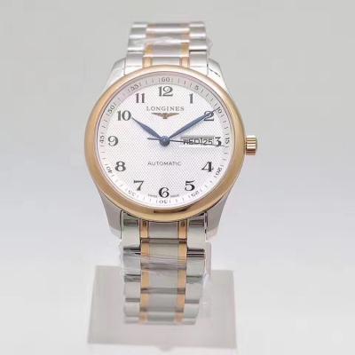 YL厂V2版 浪琴名匠双历 海鸥2836机芯 蓝宝石镜面 38.5mm表径 男士手表