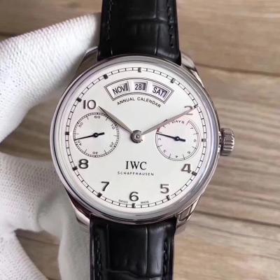新品  YL万国 IW503502 镜面为双面防反光拱形边缘蓝宝石玻璃表镜 男士手表