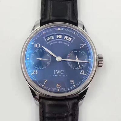 YL新品 IW503502 镜面为双面防反光拱形边缘蓝宝石玻璃表镜 男士手表