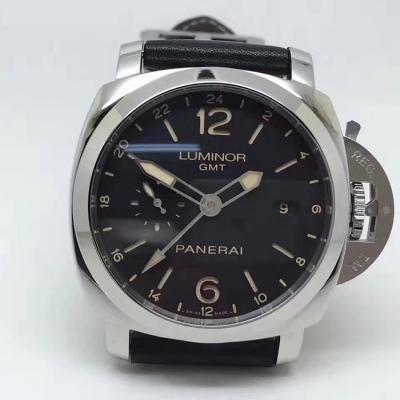 XF出品 沛纳海PAM531  LUMINOR 1950系列 GMT两地时间功能显示  44mm