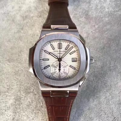 BP出品 百达翡丽鹦鹉螺计时款  上海7750机改 Cal.CH28-520 C机芯 男士手表