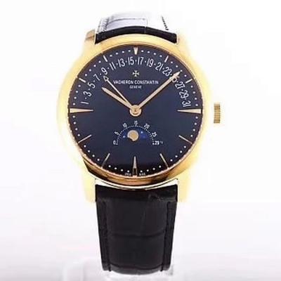 GS新品 Vacheron constantin 经典美作江诗丹吨传承系列 月相和逆跳日历款腕表