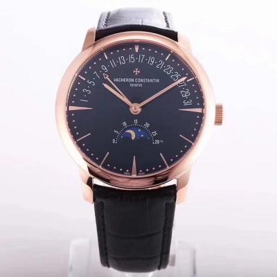 GS新品 Vacheron constantin 经典美作江诗丹顿传承系列 月相和逆跳日历款腕表