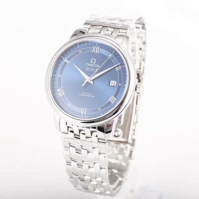 GP厂欧米茄蝶飞 表壳采用316精钢材质 CNC数控雕刻 男士机械手表