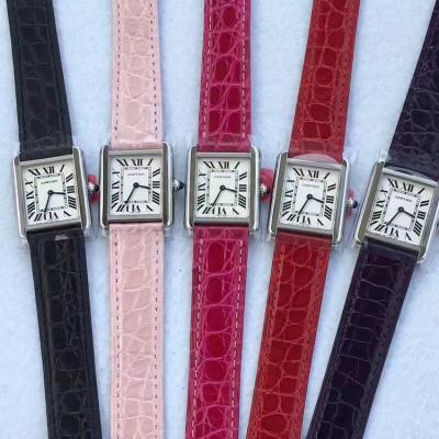 GP厂出品 定制腕表 完全拆解开模 仅盘面已修改8次至完美 美洲鳄鱼皮 女士腕表