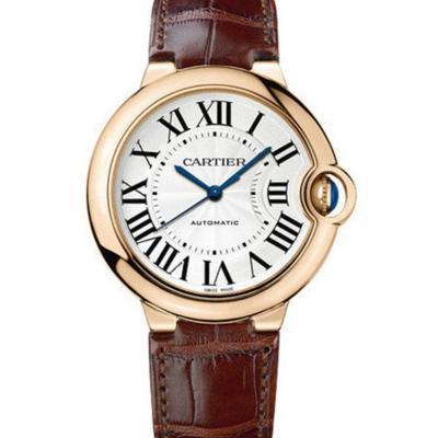 v6厂卡地亚蓝气球W6900456玫瑰金女士机械手表(33mm)