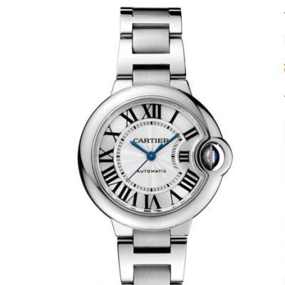v6厂v7版卡地亚蓝气球系列W6920071钢带女士机械手表 33mm 顶级复刻完美版本