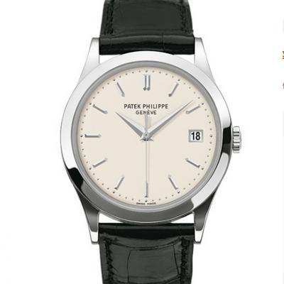 ZF厂百达翡丽5296G-010古典表系列皮带自动机械手表