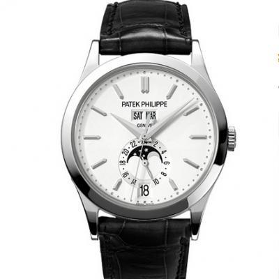 KM厂百达翡丽5396G-011系列复杂功能计时男士机械手表 全新v2升级版