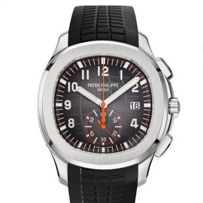 百达翡丽AQUANAUT系列5968A-001腕表男士自动机械计时手表