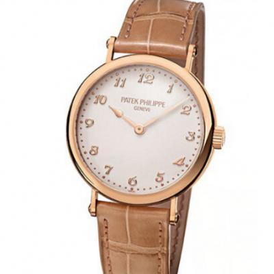百达翡丽7200R-001女士机械手表 优雅高贵淑女型 简单风格