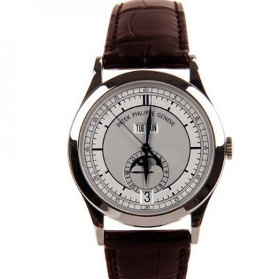 KM厂百达翡丽5396G-001复杂功能计时男士机械手表 全新v2升级版