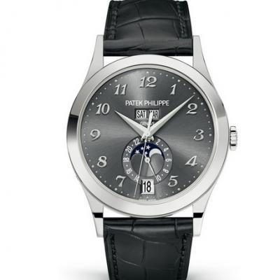 KM厂百达翡丽5396G-014系列复杂功能计时男士机械手表 全新v2升级版