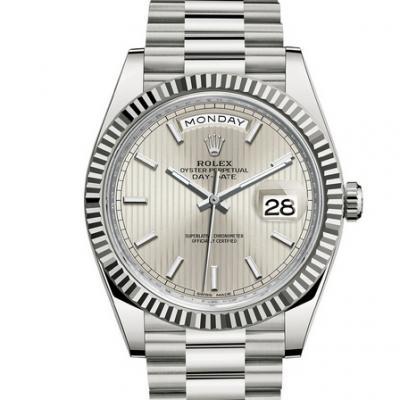 劳力士星期日历型系列228239-0001男士机械手表高仿 直纹盘腕表