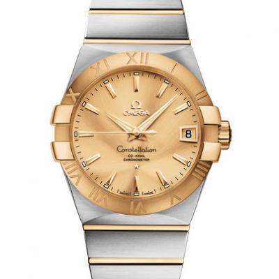 欧米茄星座系列123.20.38.21.08.001机械男士手表