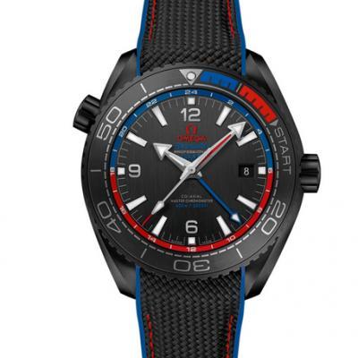 VS欧米茄全黑陶瓷海洋宇宙600米 搭载 VS自产一体8906机芯 整体天然橡胶带 男士腕表