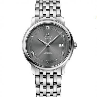 GP厂欧米茄新碟飞系列钢带男士机械手表 最新升级版 灰面
