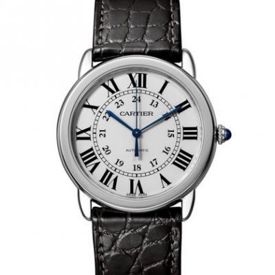 复刻卡地亚伦敦系列WSRN0013机械男腕表