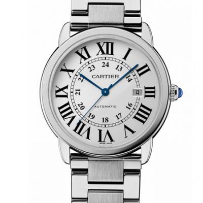 卡地亚伦敦系列W6701011全自动机械男士手表  钢带