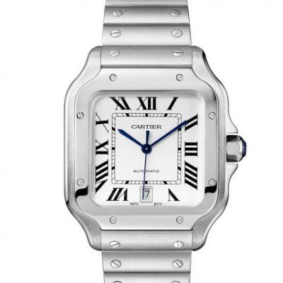 RB卡地亚山度士黑骑士 市面上最强顶级复刻山度士手表 精钢表带