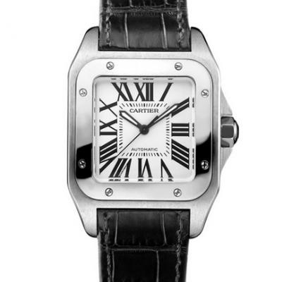 RB卡地亚山度士黑骑士W20106X8市面上最强顶级复刻山度士手表 皮带表