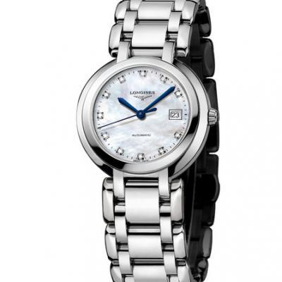 GS浪琴表心月系列L8.110.4.87.6石英机芯女士手表 优雅而至 热卖贝母面