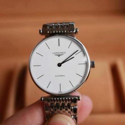 浪琴超薄嘉岚系列全自动机械手表 L4.708.4.72.6一比一复刻