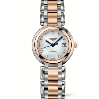 GS浪琴表心月系列L8.111.5.87.6优雅而至,石英女士腕表玫瑰金款