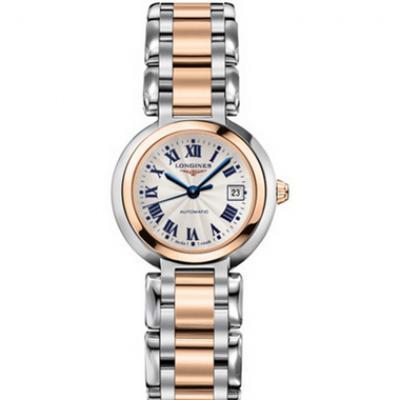 GS浪琴表心月系列L8.111.5.78.6优雅而至,石英女士腕表玫瑰金款