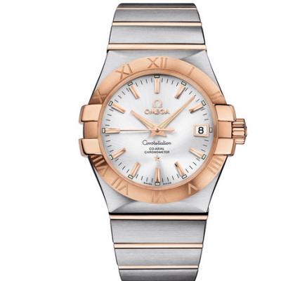 欧米茄星座系列123.20.35.20.02.001机械男士手表
