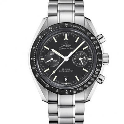OM厂一比一复刻欧米茄311.30.44.51.01.002超霸系列同轴计时表男士钢带机械手表