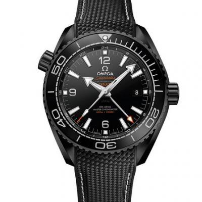 """VS厂欧米茄215.92.46.22.01.001全黑陶瓷海洋宇宙600米 """"深海之黑"""" 机械手表"""