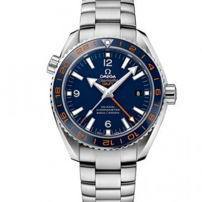 VS欧米茄232.30.44.22.03.001海洋宇宙GMT 43.5mm男士手表  蓝宝石玻璃