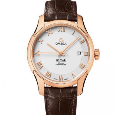 sss厂欧米茄蝶飞系列431.53.41.21.02.001玫瑰金经典男士自动机械手表