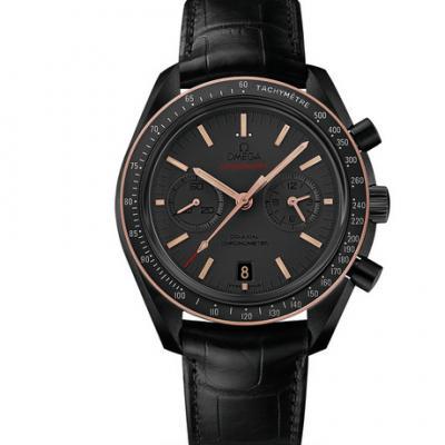 欧米茄 超霸311.63.44.51.06.001系列月之暗面 新面陶瓷圈口拱形男士手表