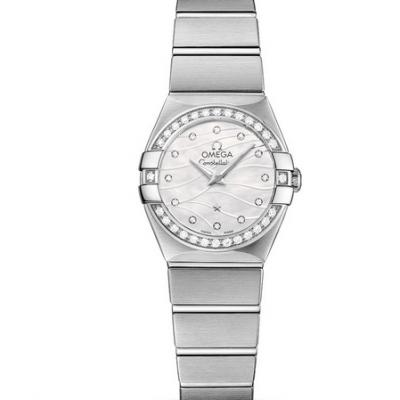 市面最强的欧米茄星座系列123.15.24.60.55.006女士石英手表 高配置以假乱真没问题