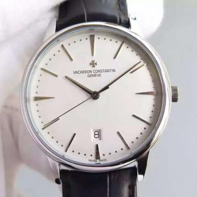 江诗丹顿传承系列85180/000G-9230白面男士手表