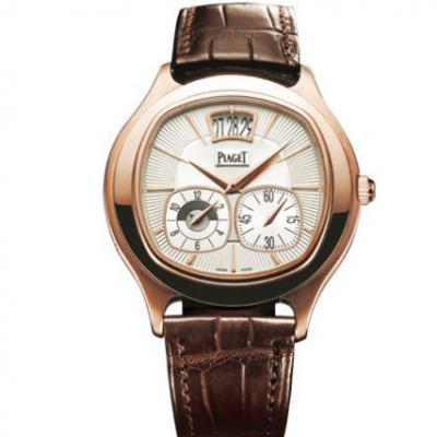 TW厂伯爵BLACK -TIE系列GOA32017玫瑰金多功能男士机械手表